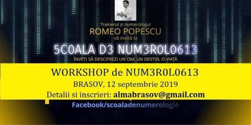 Workshop numerologie 12.09.2019